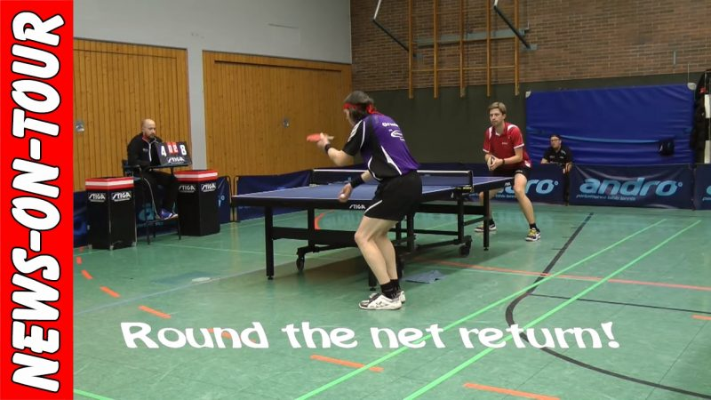BEST TT-RALLYES! Round the net return | NRW-Liga/Verbandsliga Tischtennis | Table Tennis | Ping Pong