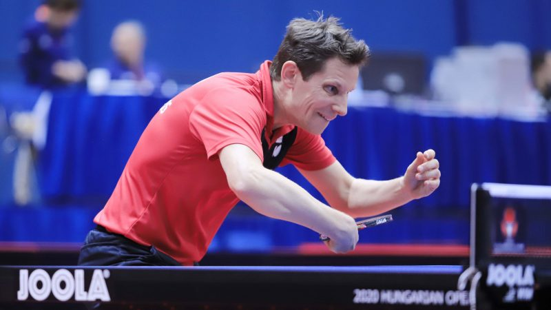 Austrian, inspired young veteran – International Table Tennis Federation