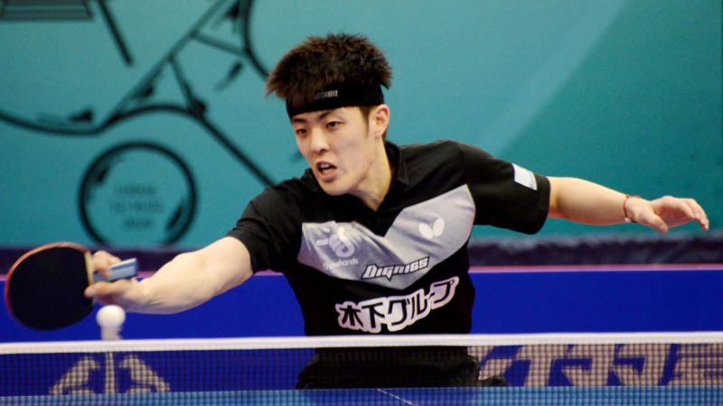 Rich vein of form continues, one step higher for Qiu Dang