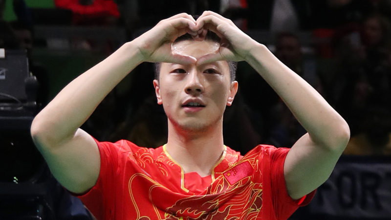 #OnThisDay: Ma Long roars his way to victory at Rio 2016