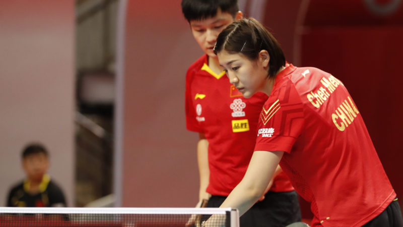 Intense opening day as China prepares for Tokyo