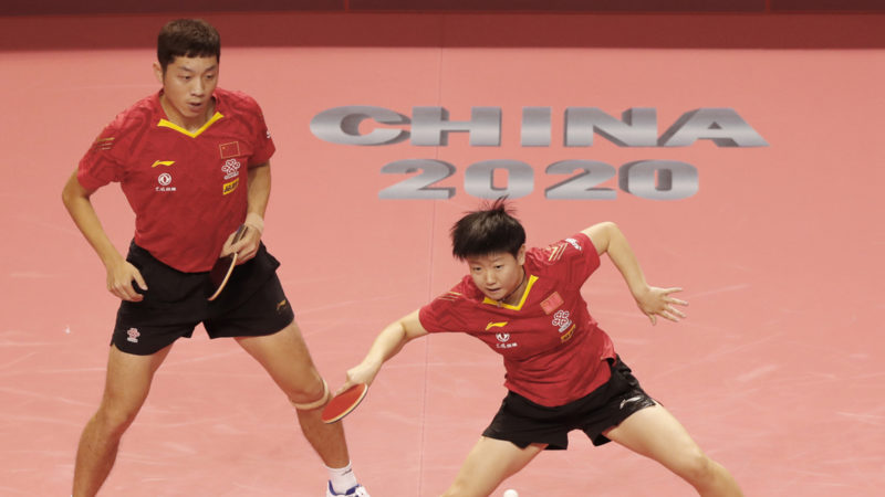 """Gold medal success for Xu Xin and Sun Yingsha at """"Olympic Simulation Games"""""""