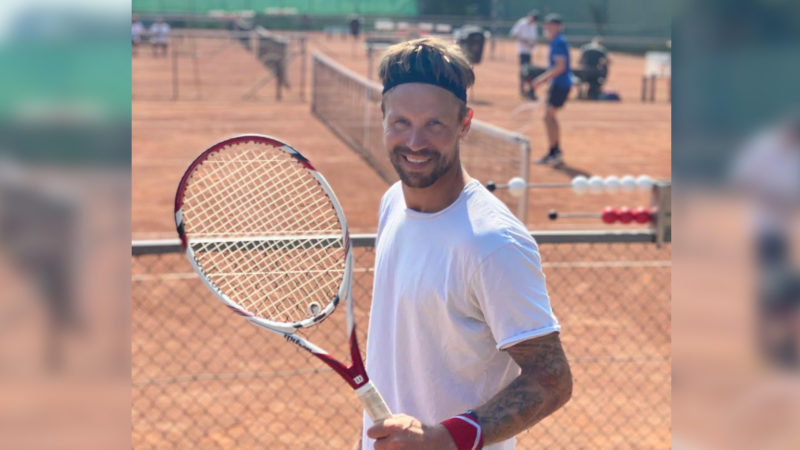 Player Watch: Michael Maze the racket sport king and a proposal
