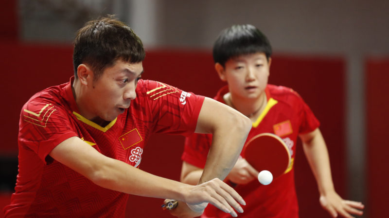 Mixed doubles finalists decided in Lingshui City